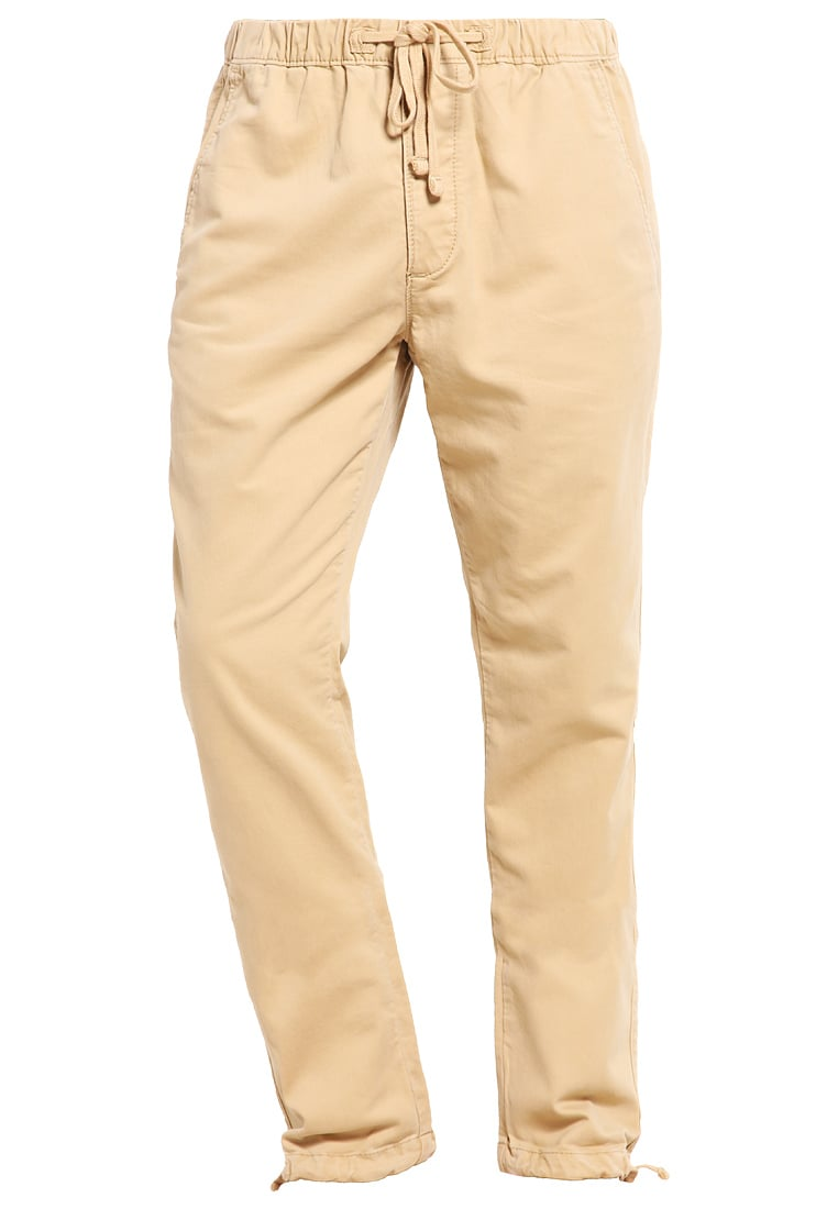Abercrombie & Fitch Chinosy light khaki - KI130-6200