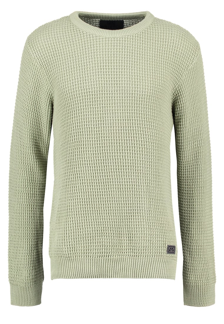 Brixtol REED Sweter silver green - 14052