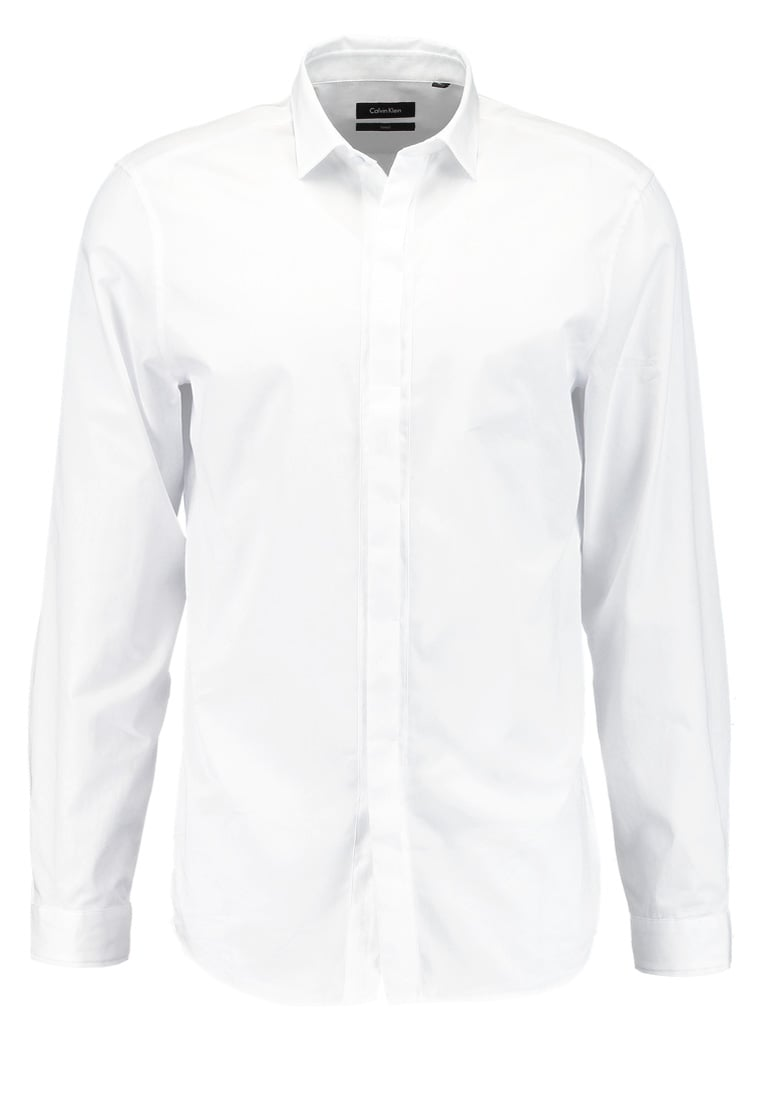 Calvin Klein WALLACE TAILORED FIT Koszula perfect white - K10K100385