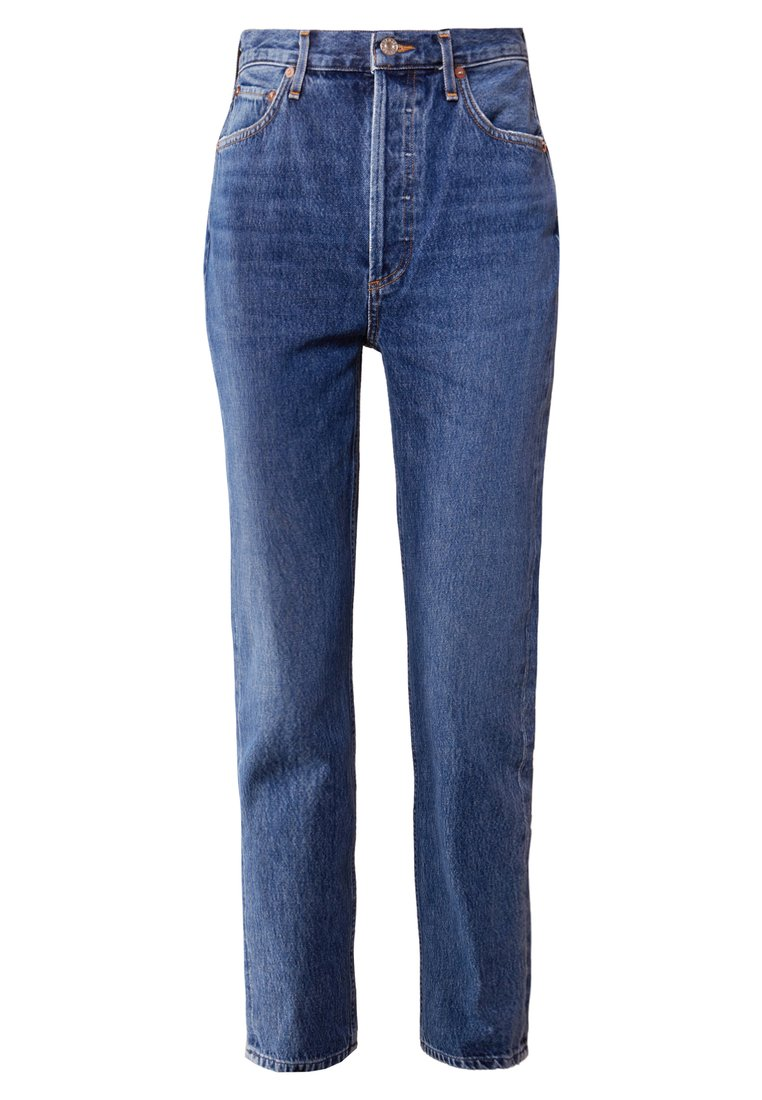 Agolde RILEY HIGHRISE Jeansy Straight Leg air blue - A056C-813