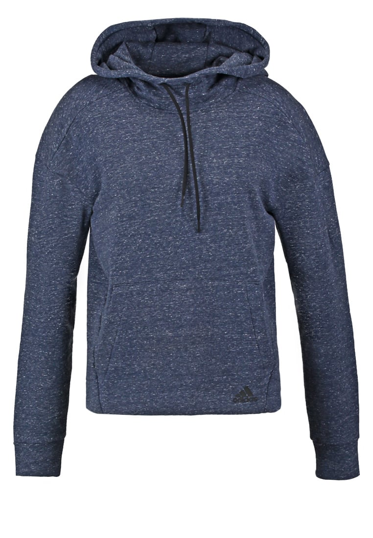 adidas Performance Bluza pepper coll navy melange - BJI81