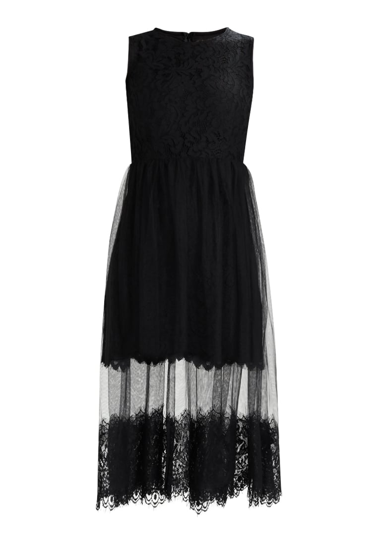 Dry Lake CINDY DRESS Sukienka koktajlowa black lace - 1043452