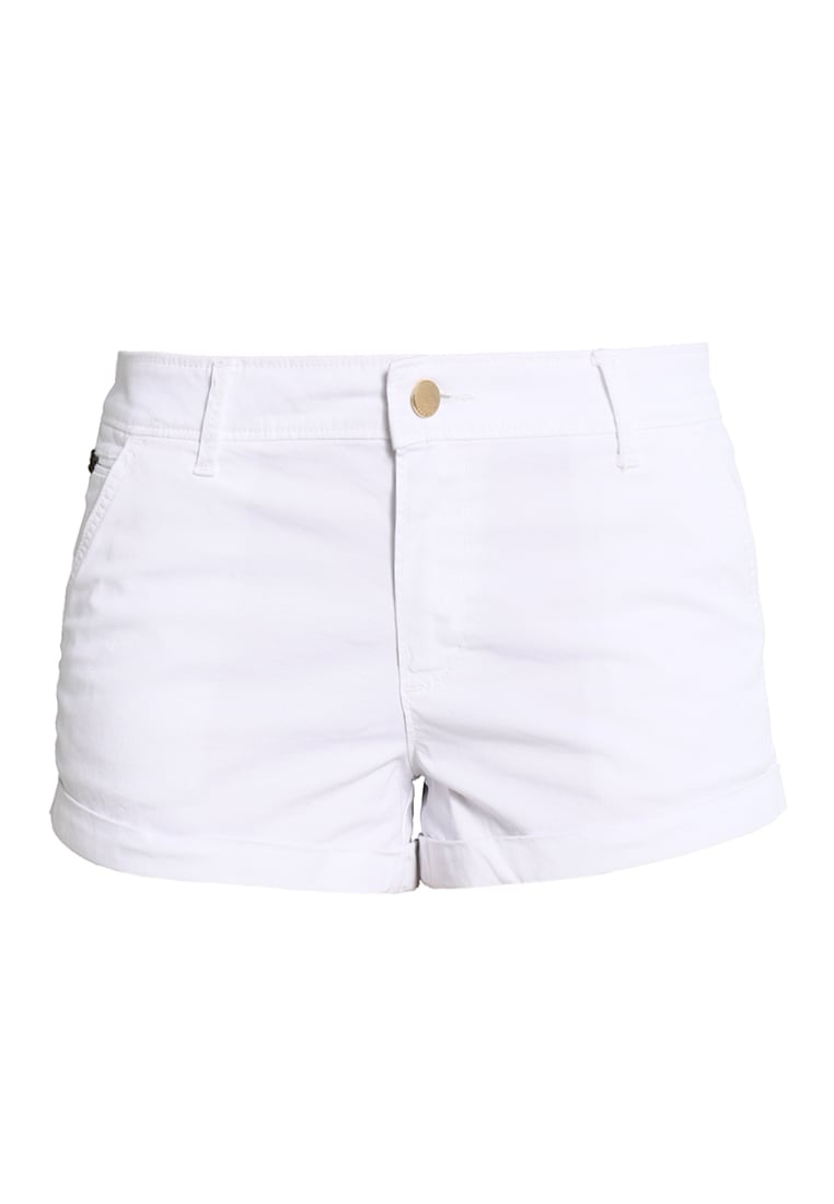 Abercrombie & Fitch Szorty white - KI153-7003
