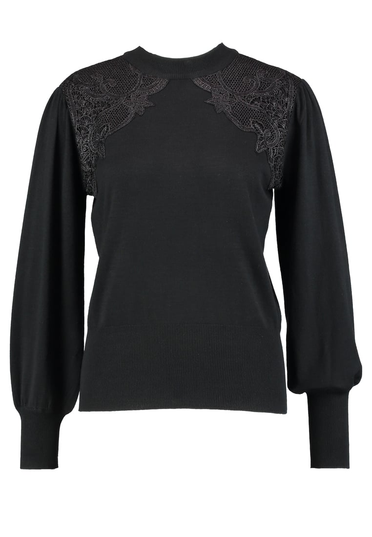 Soft Rebels WIFE ROLLNECK Sweter black