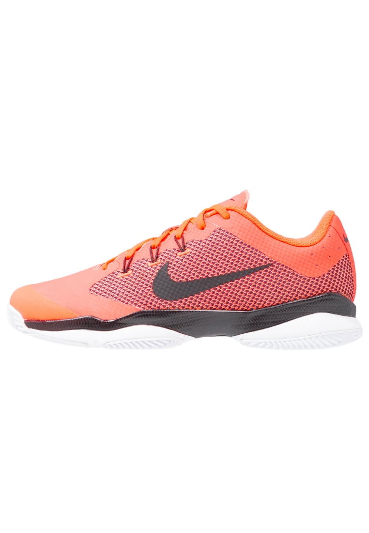 Nike Performance AIR ZOOM ULTRA CLAY Buty do tenisa Outdoor hyper orange/black/white - 845008