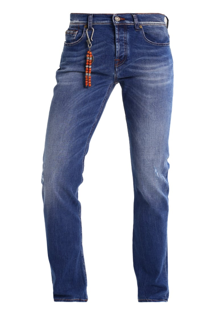 7 for all mankind CHAD Jeansy Slim fit amemoobriblu - SD3R69KBP