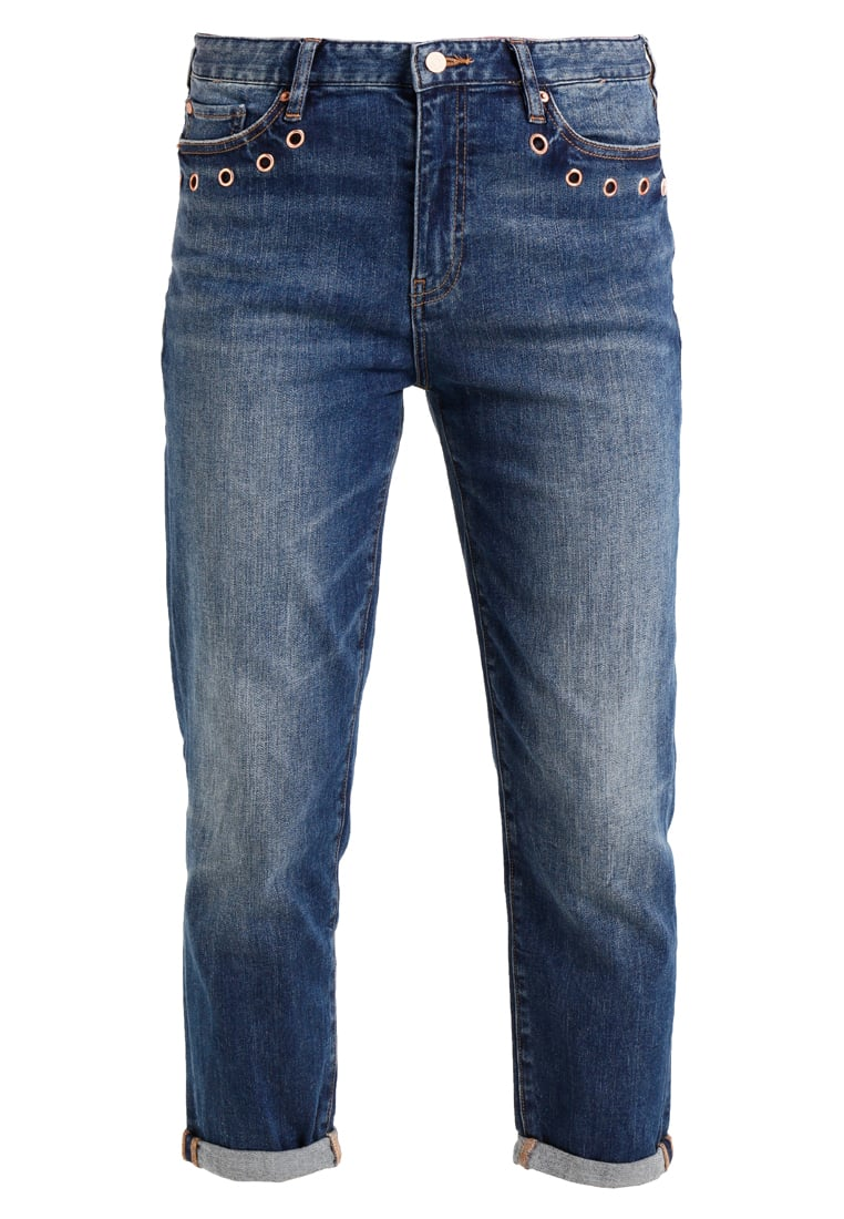Armani Exchange Jeansy Relaxed fit indigo denim - 6YYJ06 YDH6Z
