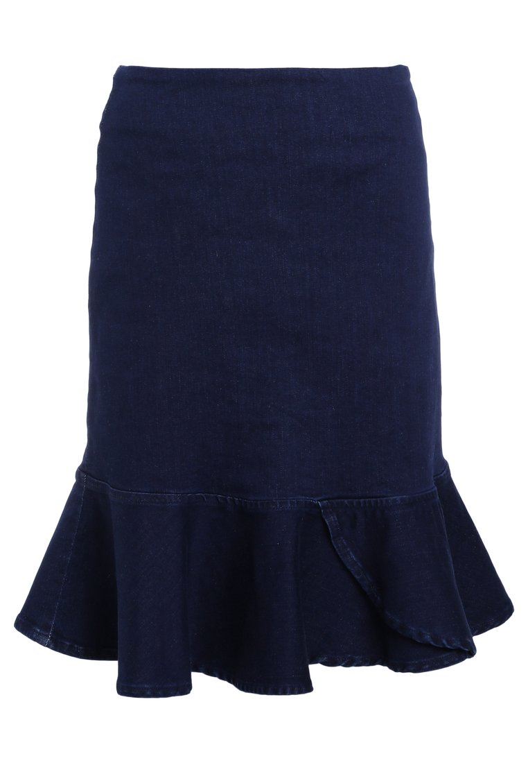 2nd Day FABLE SKIRT Spódnica trapezowa rinsed denim - 2182722331