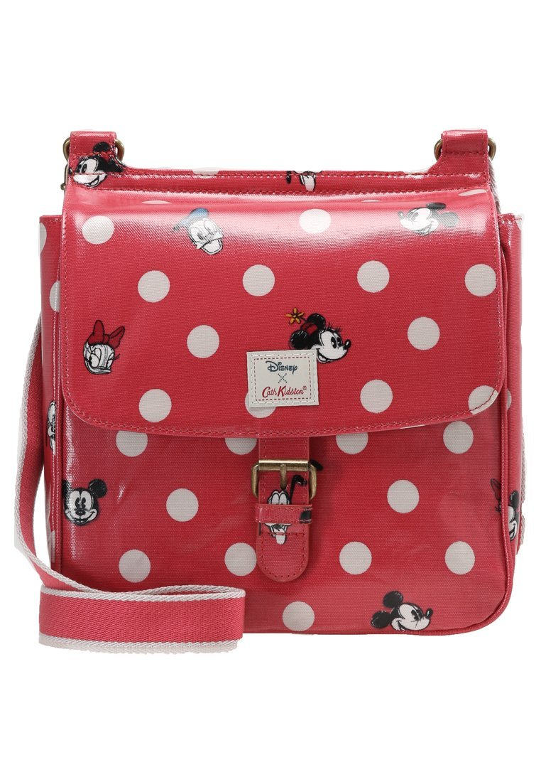 Cath Kidston DISNEY TAB SADDLE Torba na ramię red - 735063