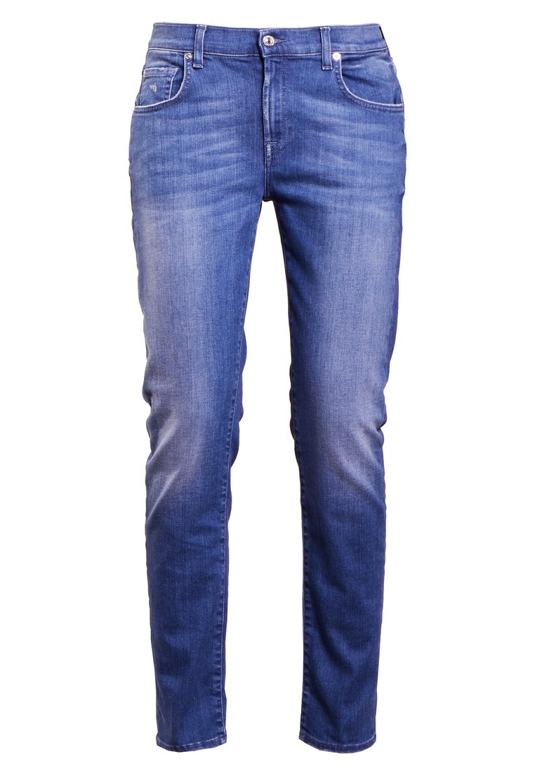 7 for all mankind Jeansy Slim Fit illusion pacific - JSDLU800