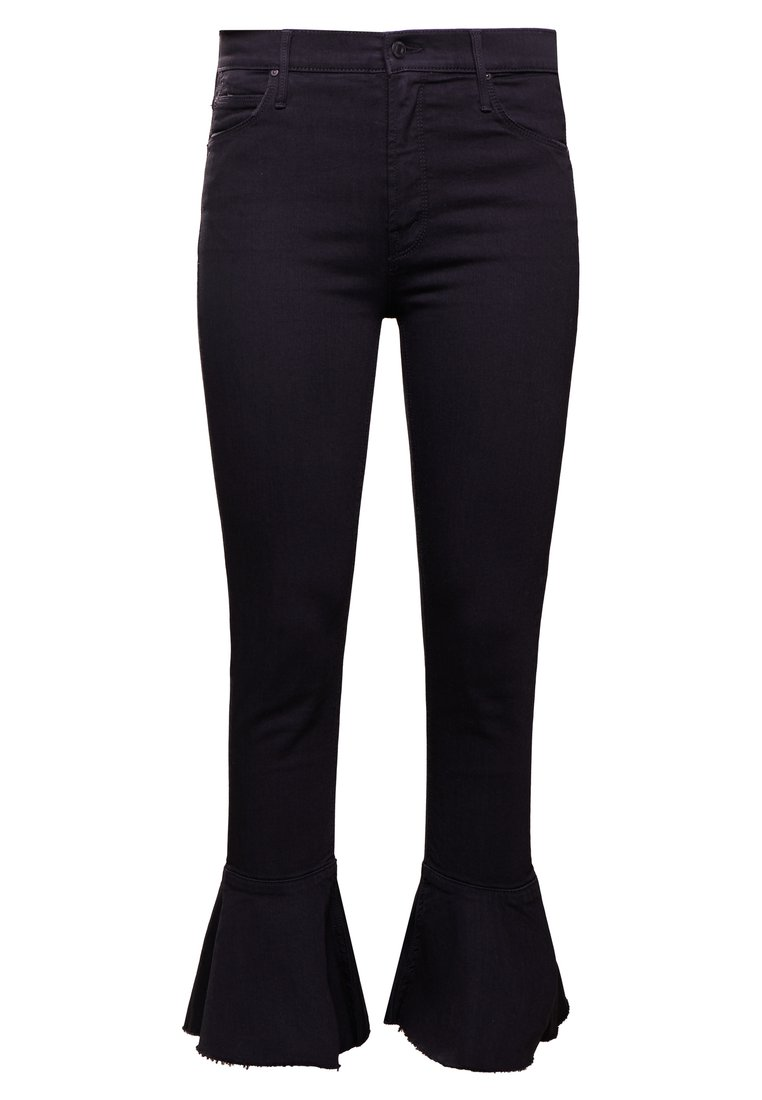 Mother THE CHA CHA FRAY Jeansy Bootcut black denim - 1113-180