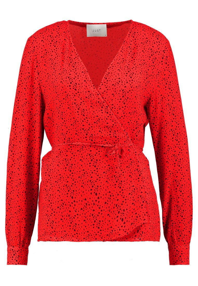 JUST FEMALE ELLEN BLOUSE Bluzka red