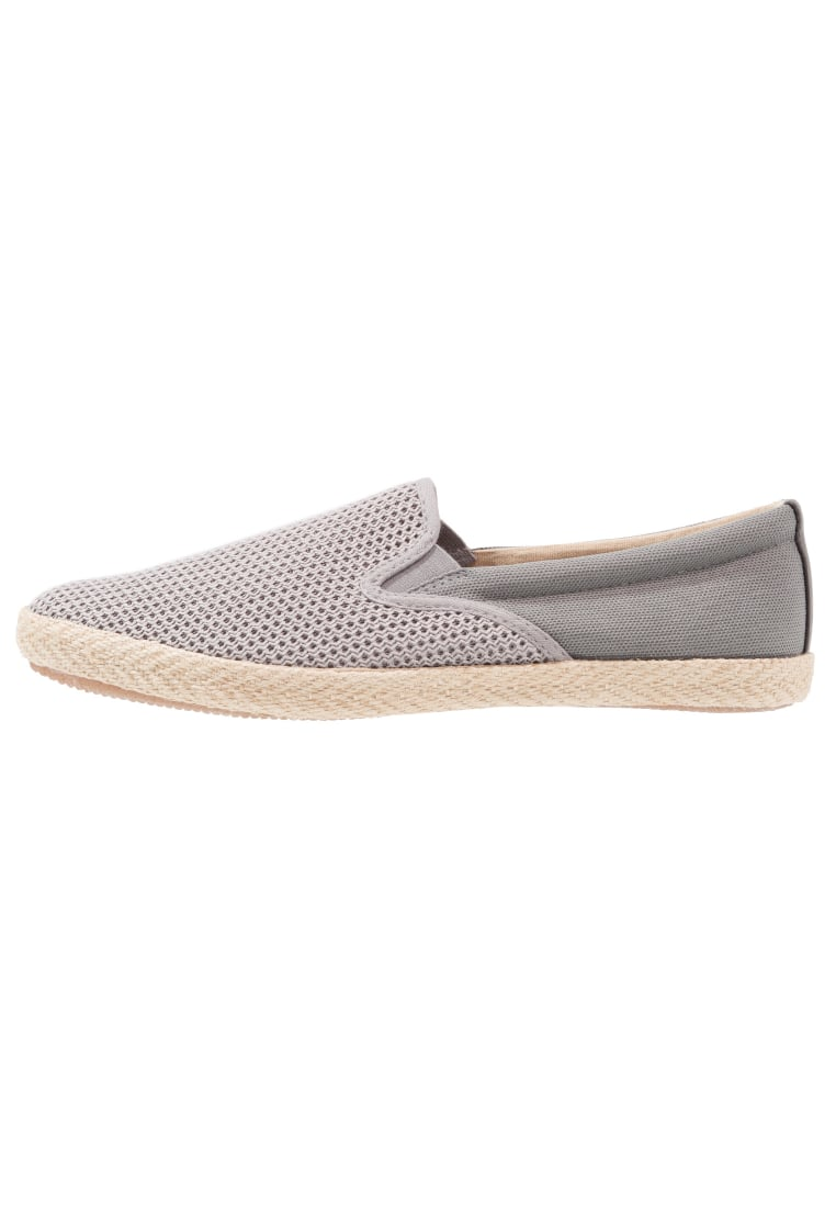 Burton Menswear London BINGLEY Espadryle grey - 90S04KGRY