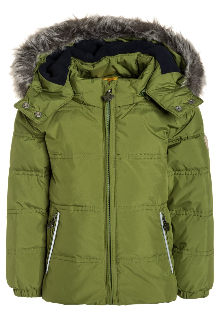 Steiff Collection ANORAK MINI NEW CITY Kurtka puchowa guacamole green - 6723629