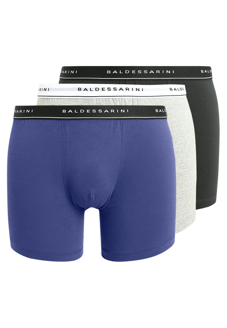Baldessarini 3 PACK Panty black/grey melange/blue - 90001