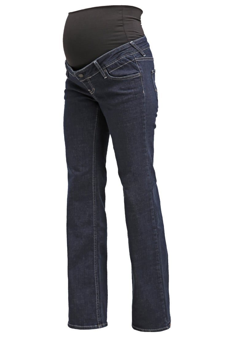 Queen Mum Jeansy Bootcut blue rinsed wash - 75.3380