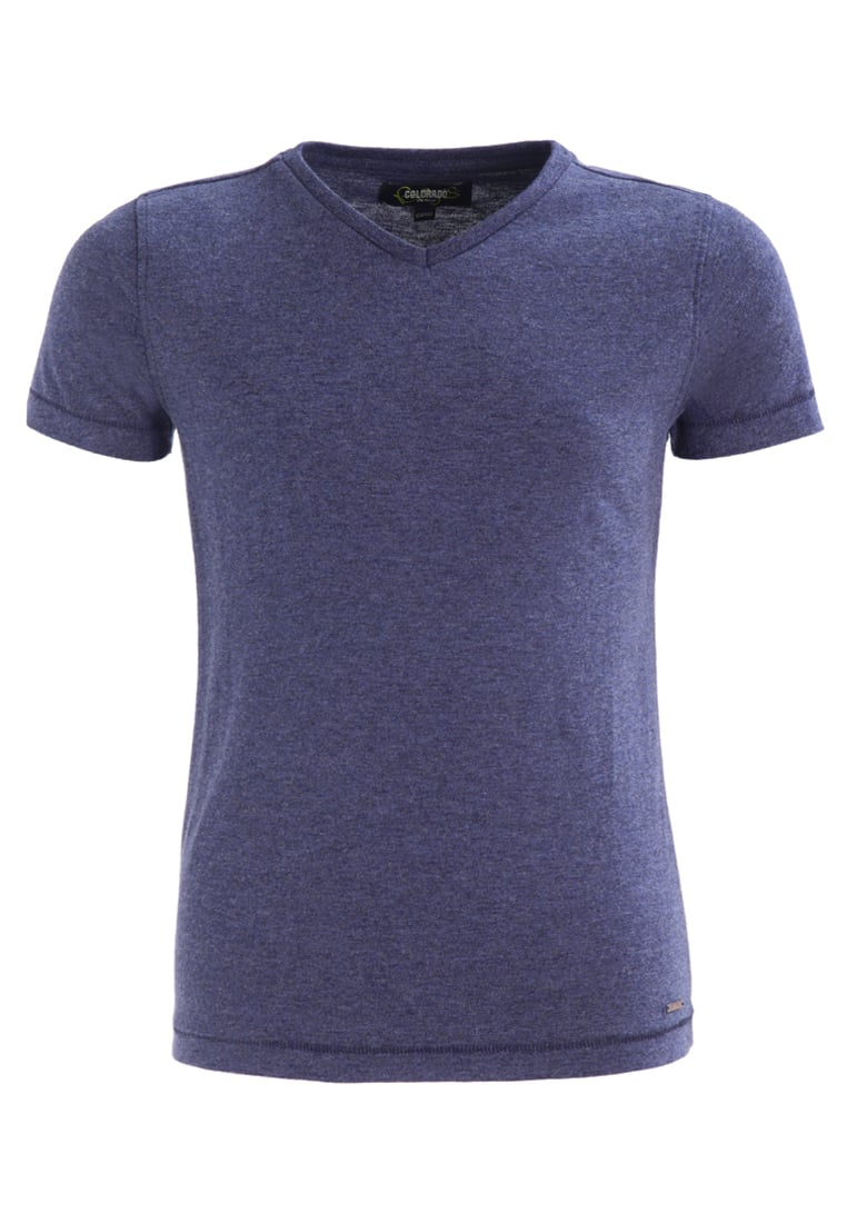 Colorado Denim BOGART Tshirt basic mood indigo melange - 13423-001