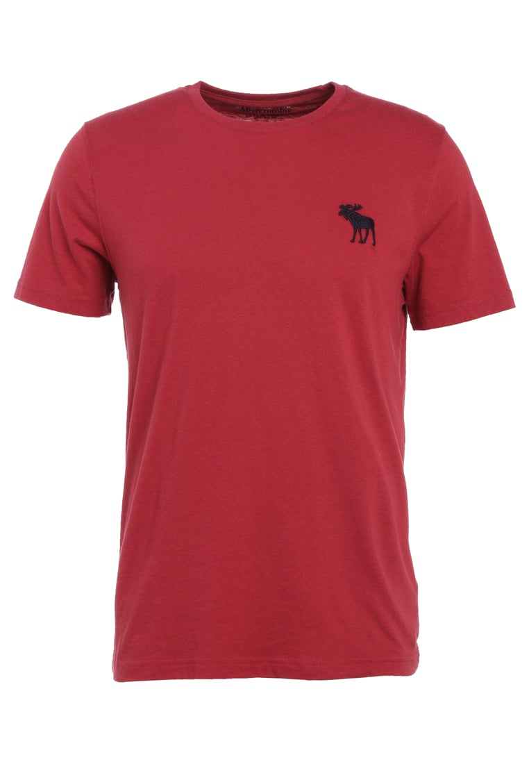 Abercrombie & Fitch EXPLODED ICON Tshirt basic red - KI124-7046-411338