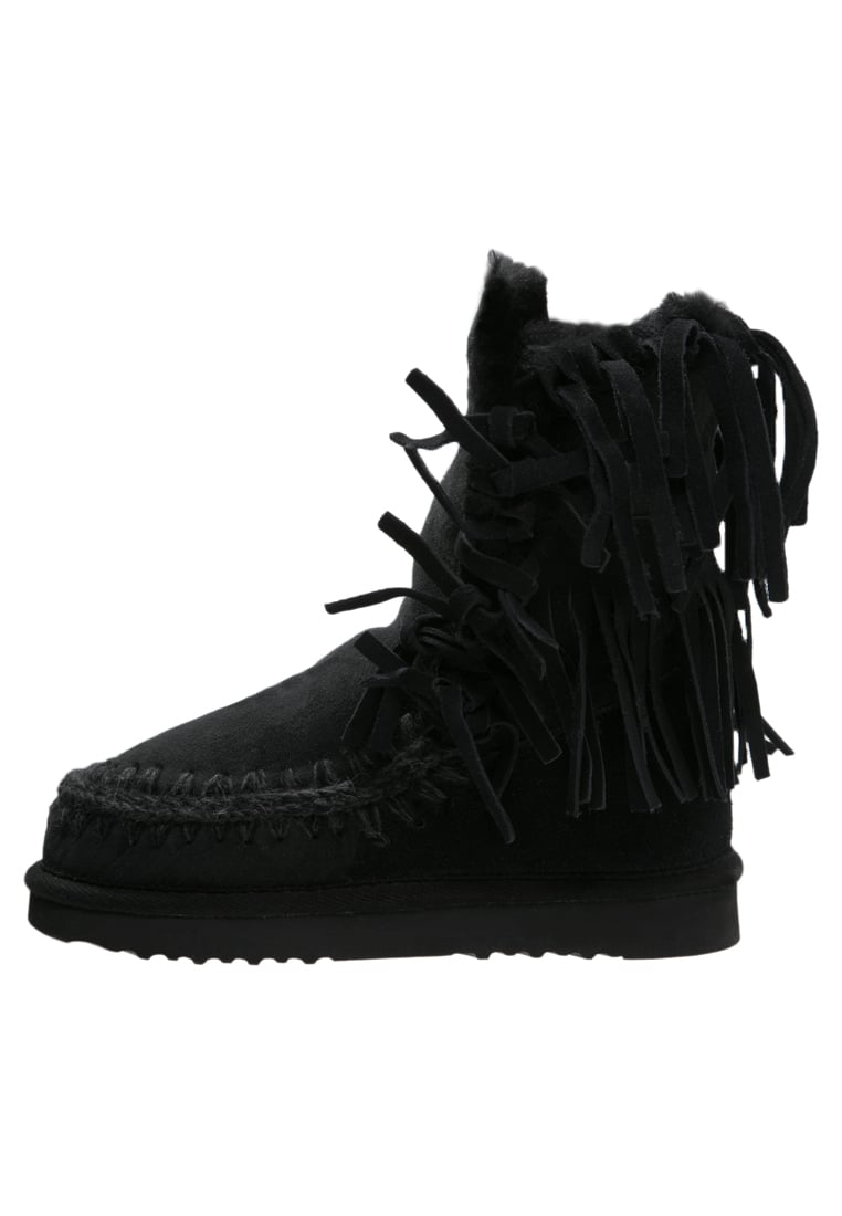 Mou ESKIMO Botki black - Eskimo 24 with Fringes