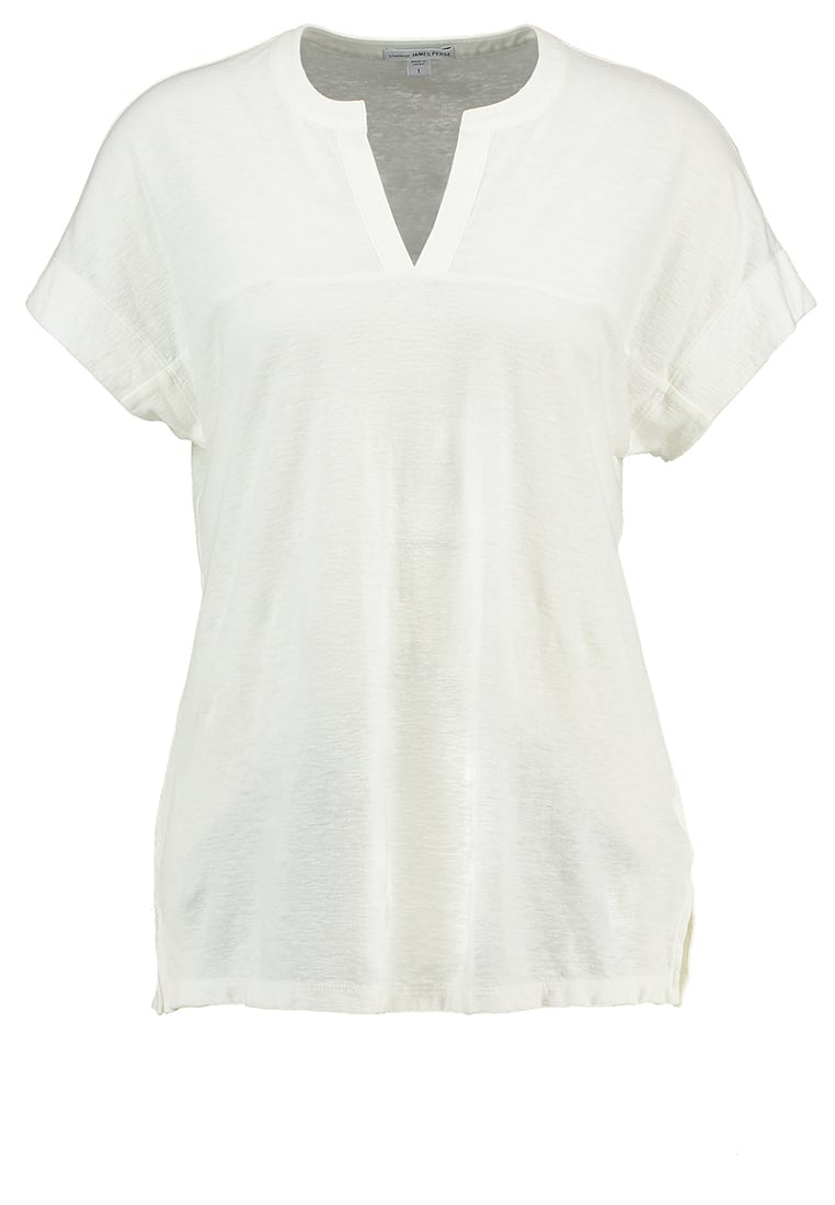 James Perse Tshirt basic ice cream - WYH3706