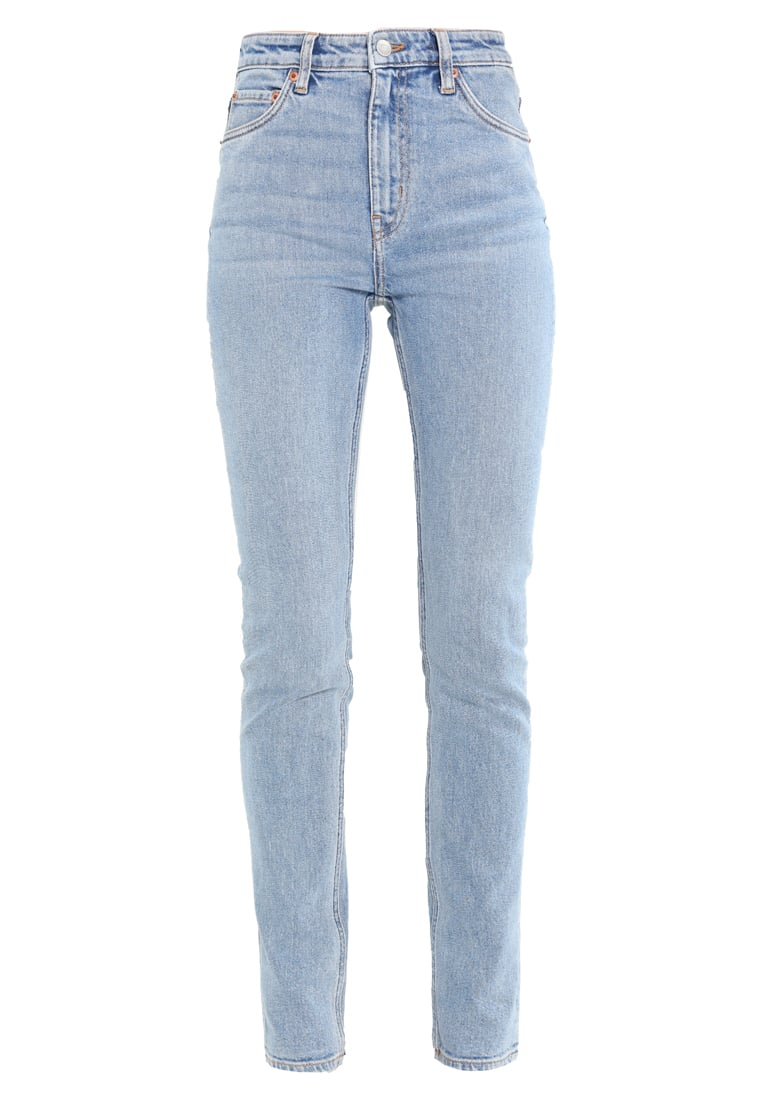 Weekday WAY Jeansy Straight Leg blue denim