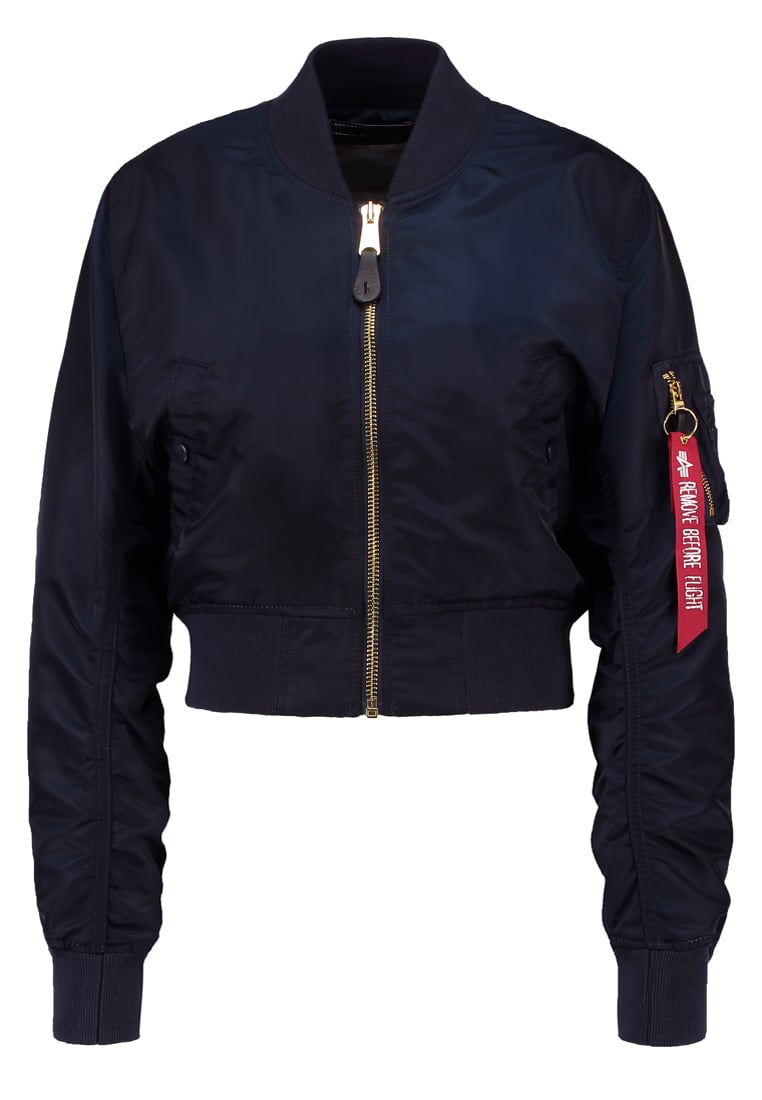 Alpha Industries Kurtka Bomber blue/gold - 176006