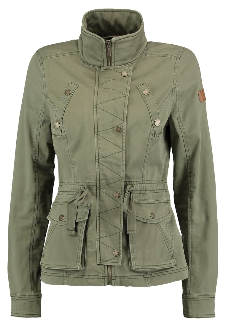 Hollister Co. ALL YEAR Kurtka wiosenna olive - KI344-7403