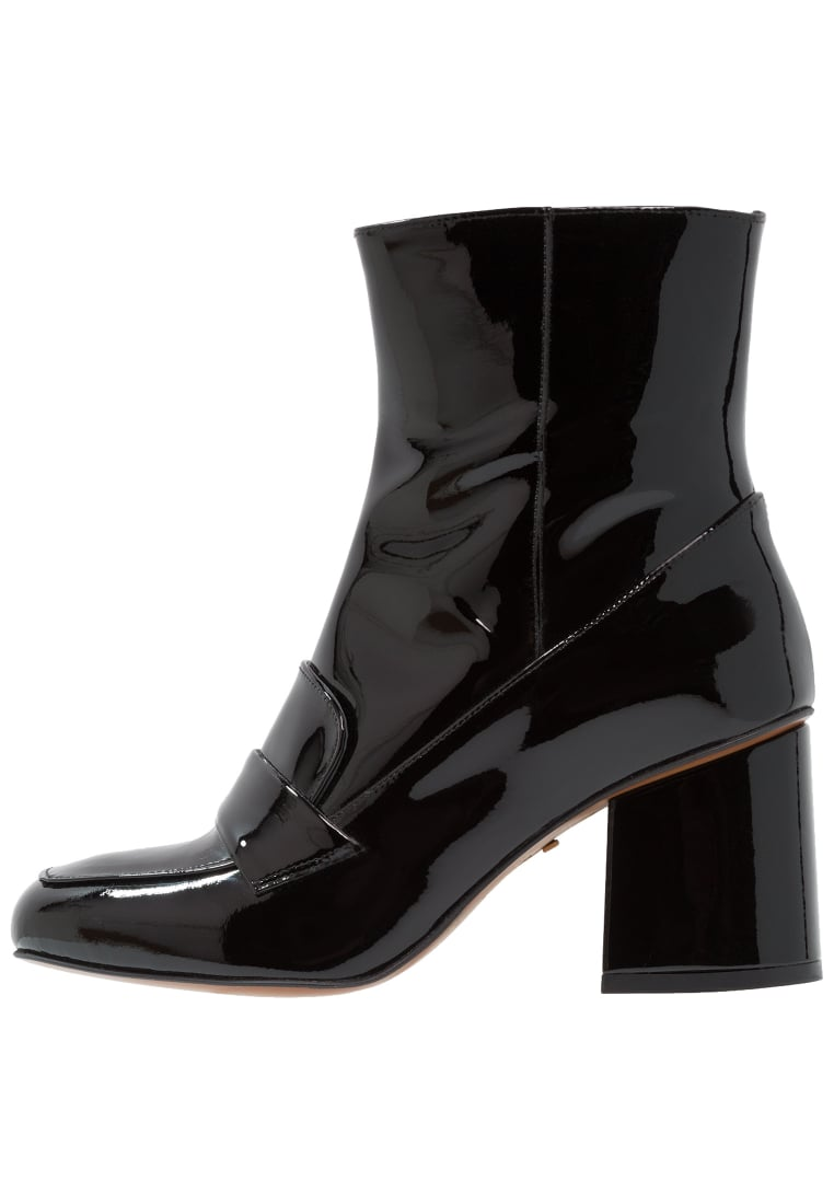Whistles AMBROSE Botki black - AMBROSE 60'S SQUARE TOE BOOT
