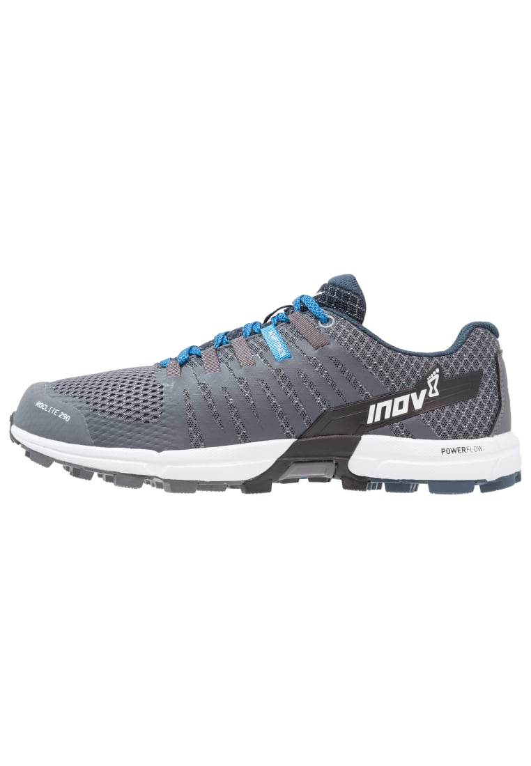 Inov8 ROCLITE 290 Buty do biegania Szlak dark grey/blue/white - 000562