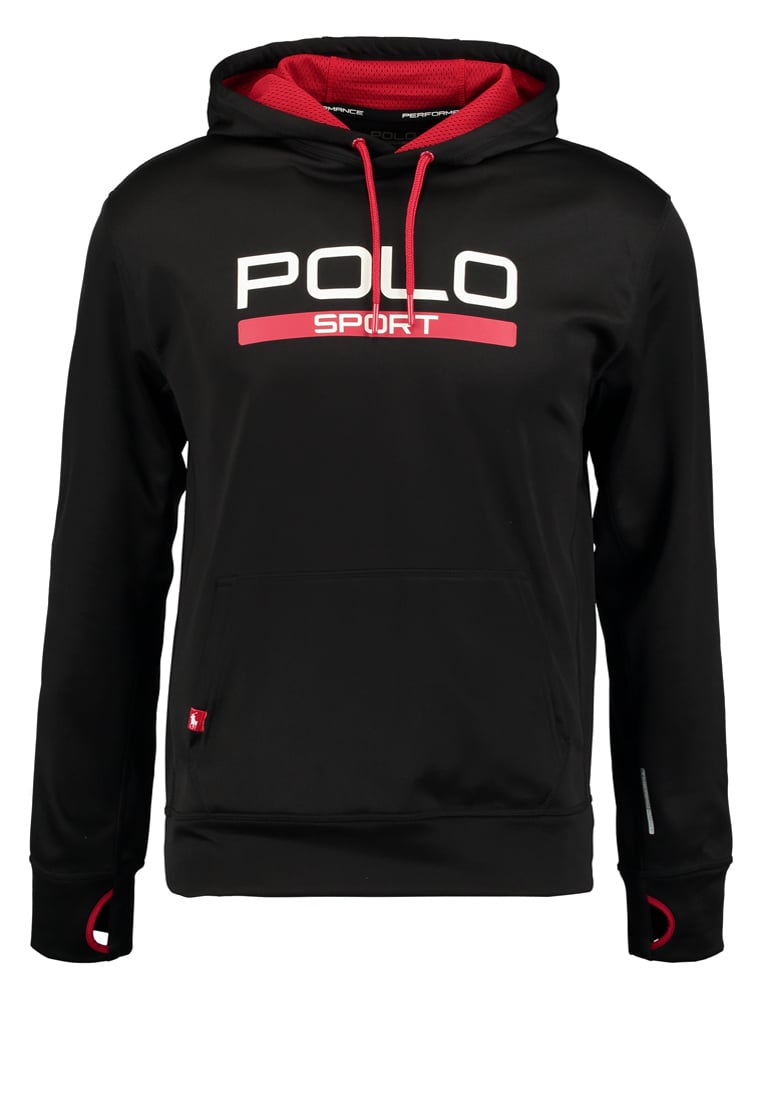 Polo Sport Ralph Lauren Bluza z kapturem polo black - 776622583