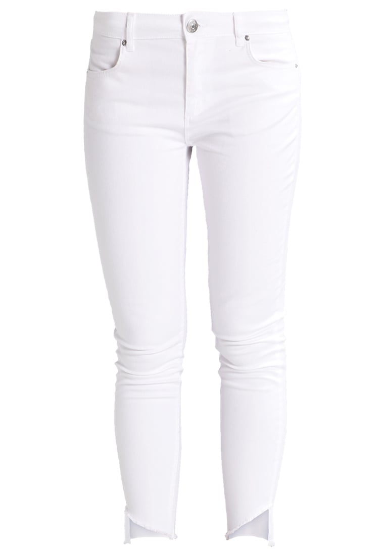 2ndOne NICOLE Jeans Skinny Fit raw white - Nicole Crop