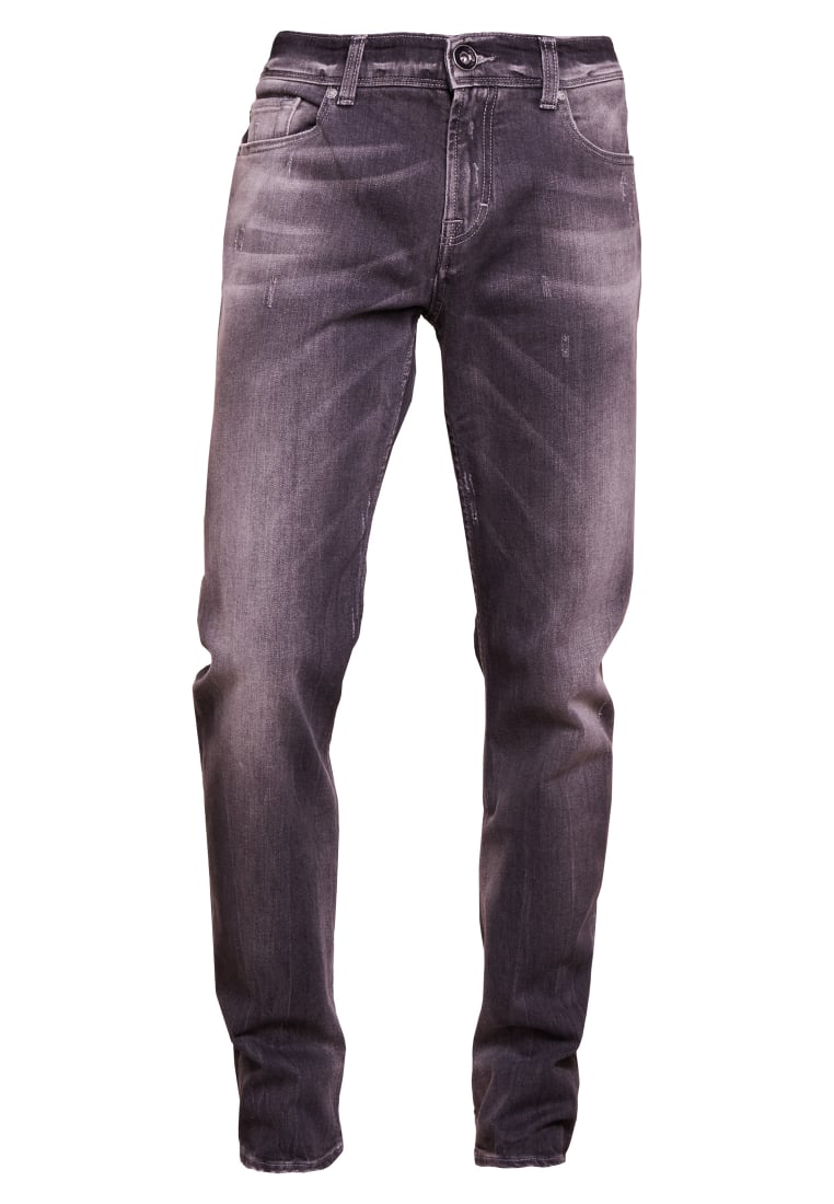 7 for all mankind CHAD Jeansy Relaxed Fit grey - sd3r380fm