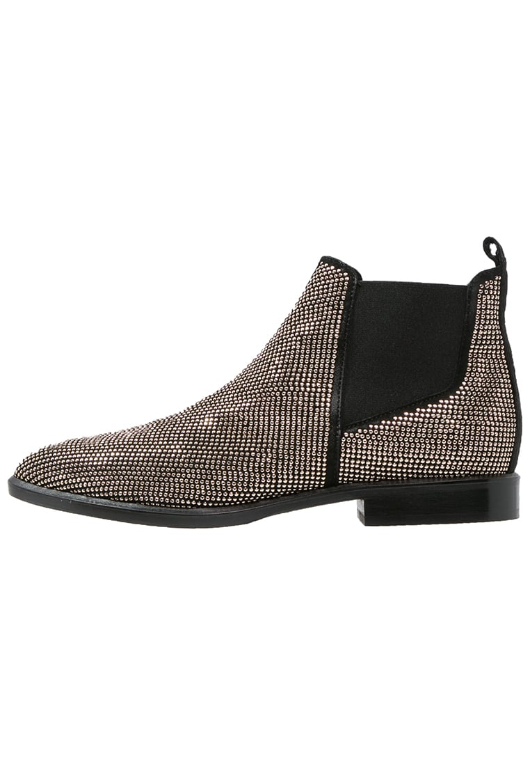 Janet & Janet Ankle boot nero/oro - 38000-F153