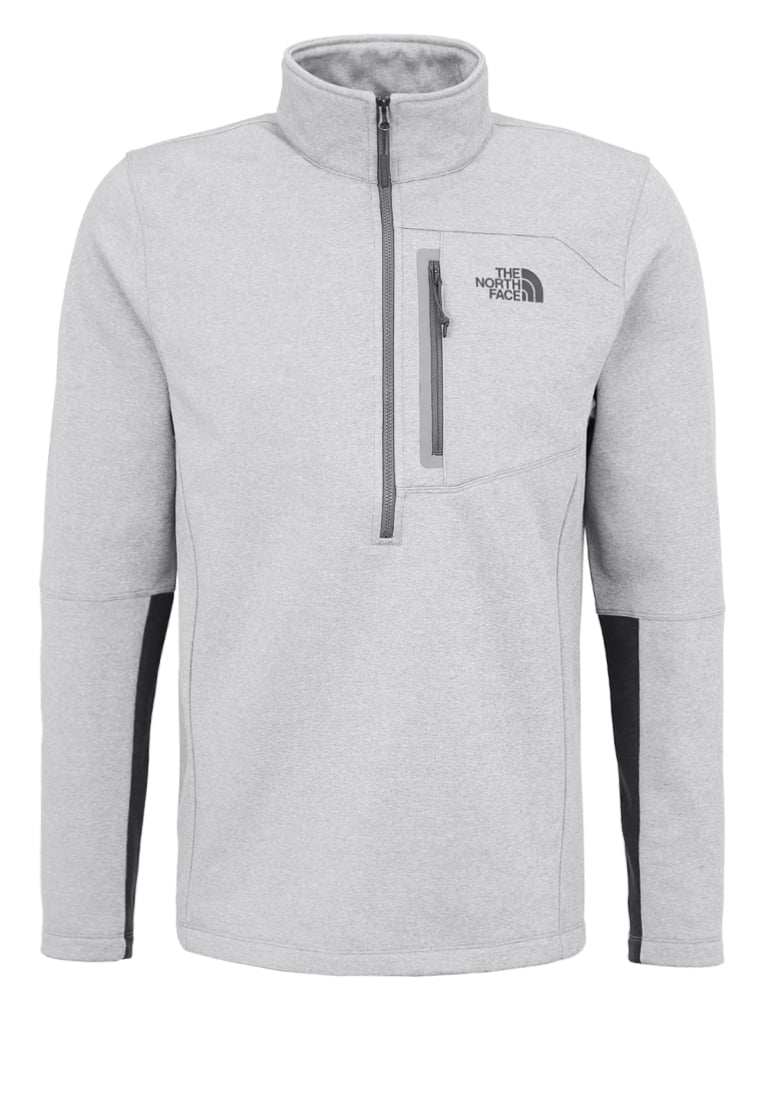 The North Face CANYONLANDS Bluza z polaru light grey heather - T92TXJ