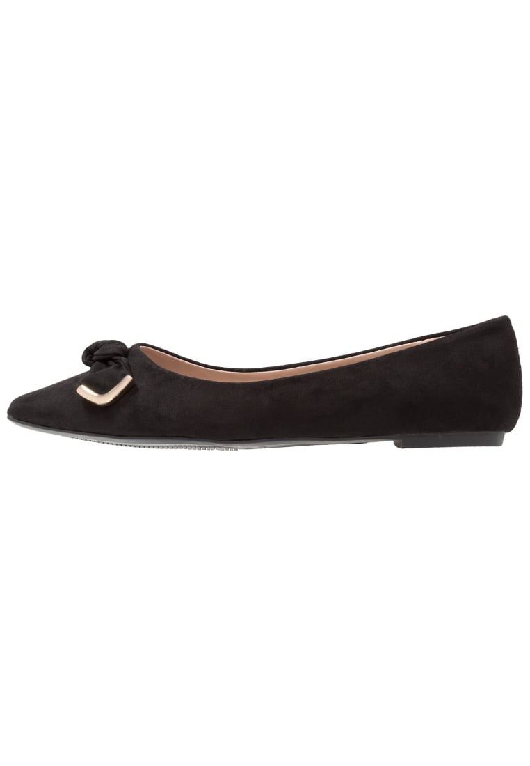 Dorothy Perkins Wide Fit HARRIE Baleriny black - 35267801