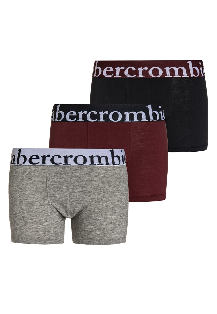 Abercrombie & Fitch 3 PACK Panty navy/grey/burgundy