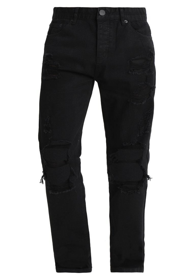 Cayler & Sons HEAVY CUT SID Jeansy Relaxed Fit black - ALLDD-CLASSIC-06