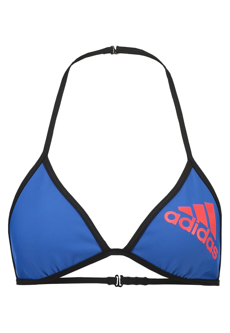 adidas Performance Góra od bikini blue/corred/black - MLA36