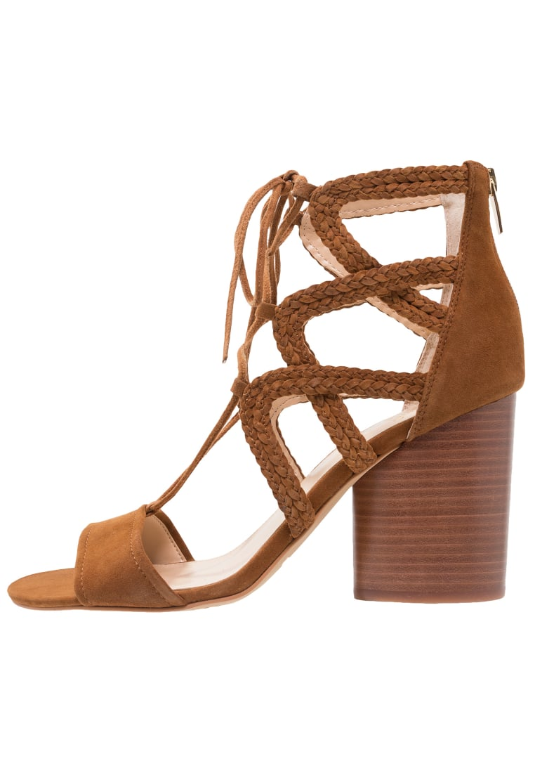 Vince Camuto AMBULAR Sandały na obcasie maple brown - Ambular