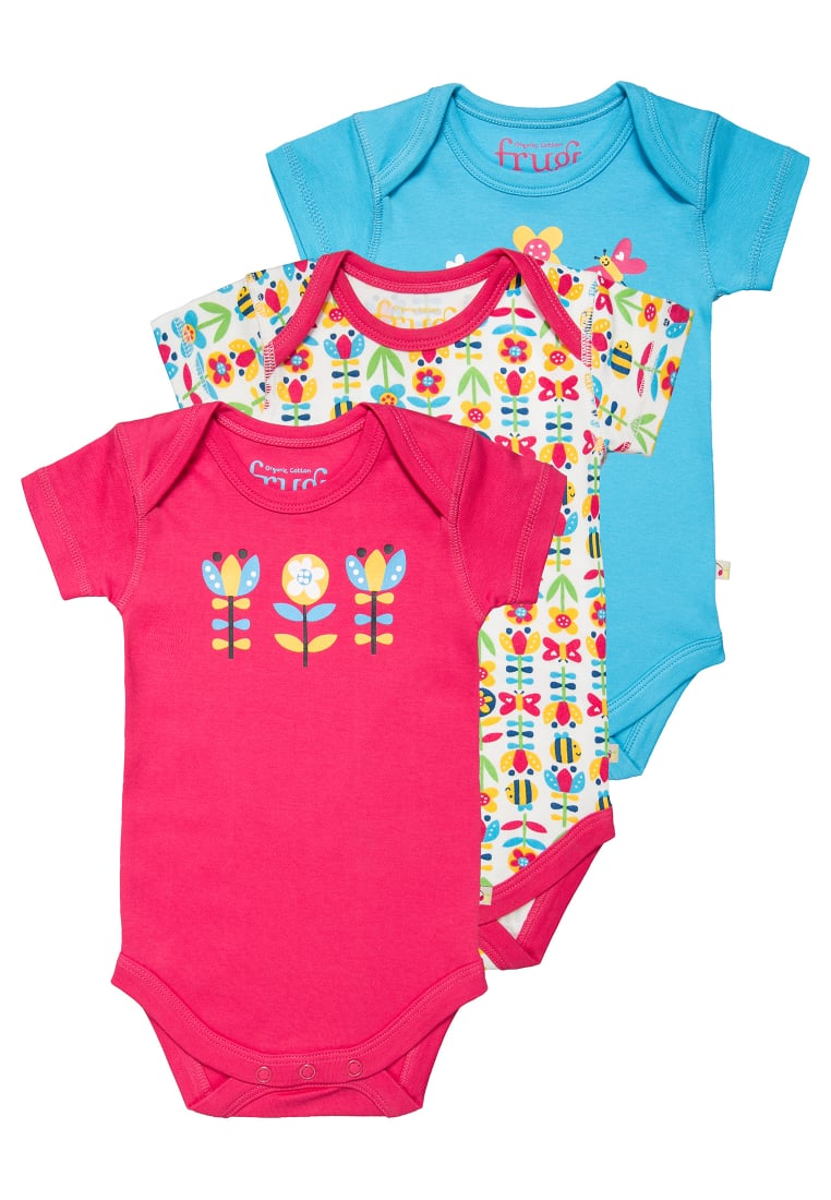 Frugi 3 PACK Body pink - BBS709BBE