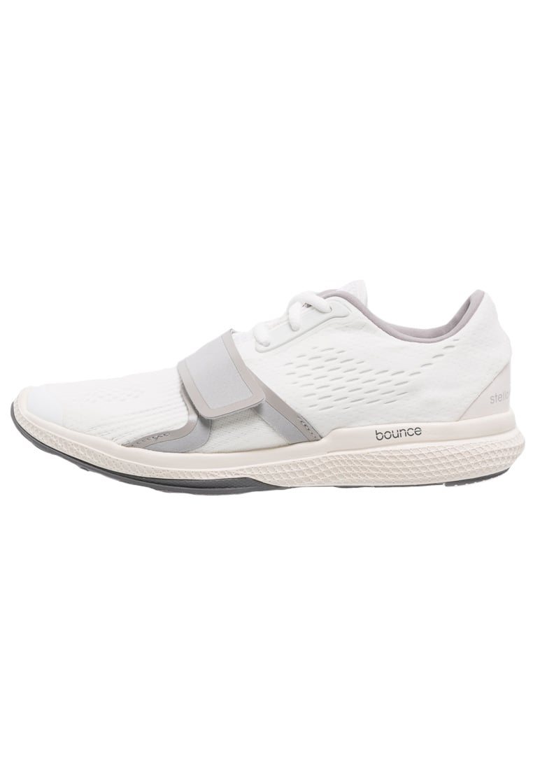 adidas by Stella McCartney ATANI BOUNCE Tenisówki i Trampki white/white chalk/new grey - KDM20