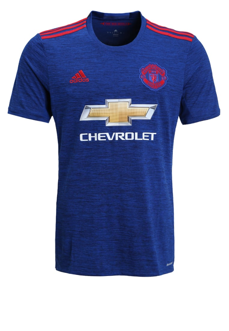 adidas Performance MANCHESTER UNITED FC AWAY Artykuły klubowe blau/rot - BFT23