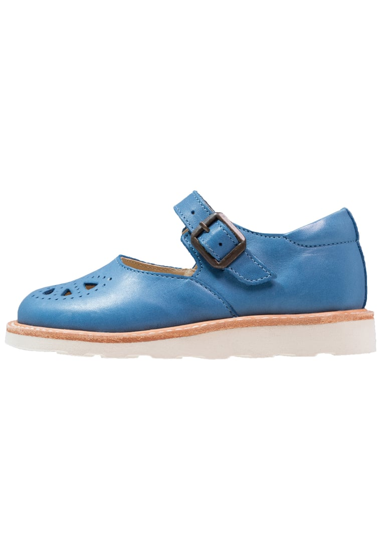 Young Soles BOW Baleriny z zapięciem blue jean - Bow Mary Jane Shoe