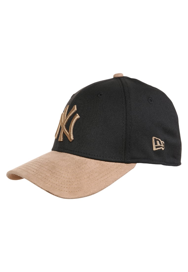 New Era 39THIRTY Czapka z daszkiem black/wheat - 80371434