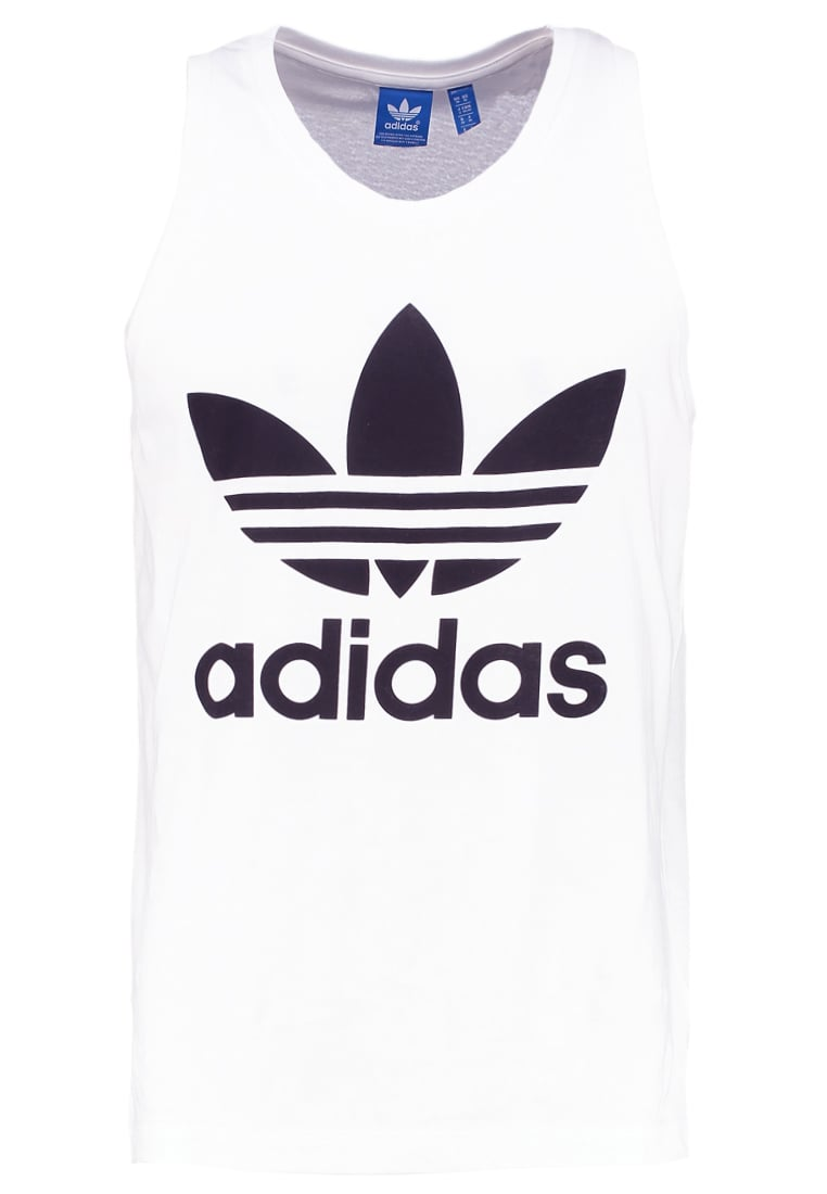 adidas Originals TREFOIL Top white - NQD00