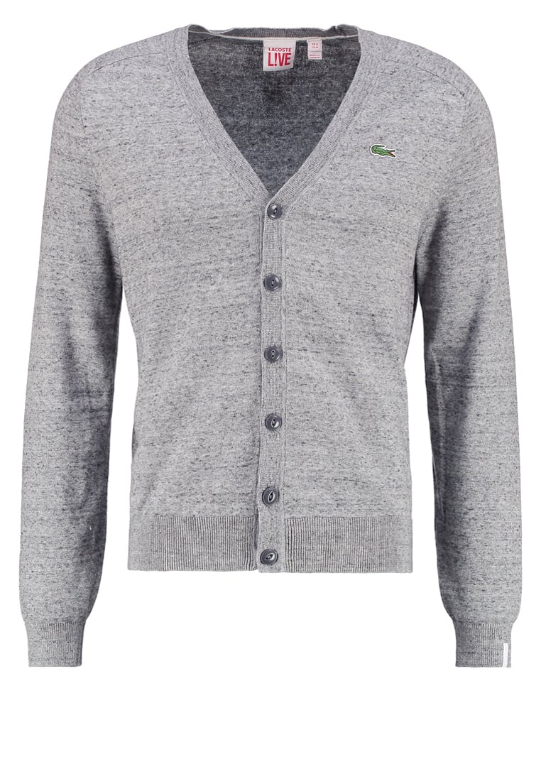 Lacoste LIVE AH2531 Kardigan medium grey jaspe - AH2531