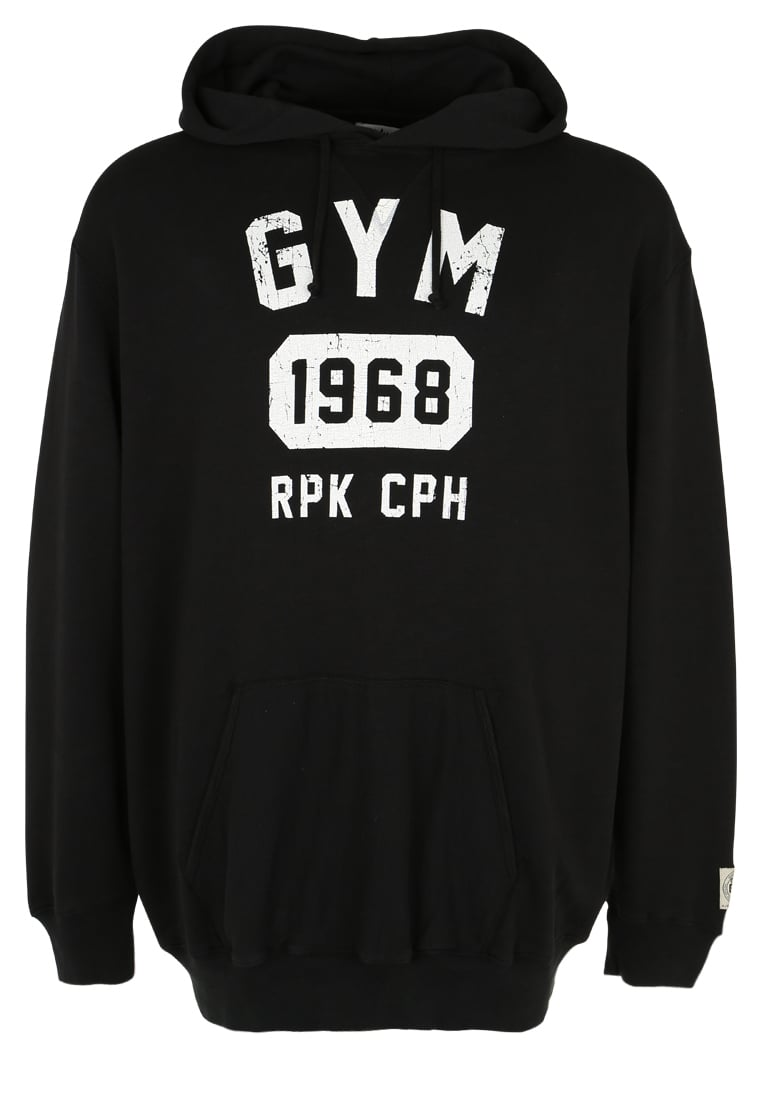 Replika GYM Bluza z kapturem schwarz - 61374