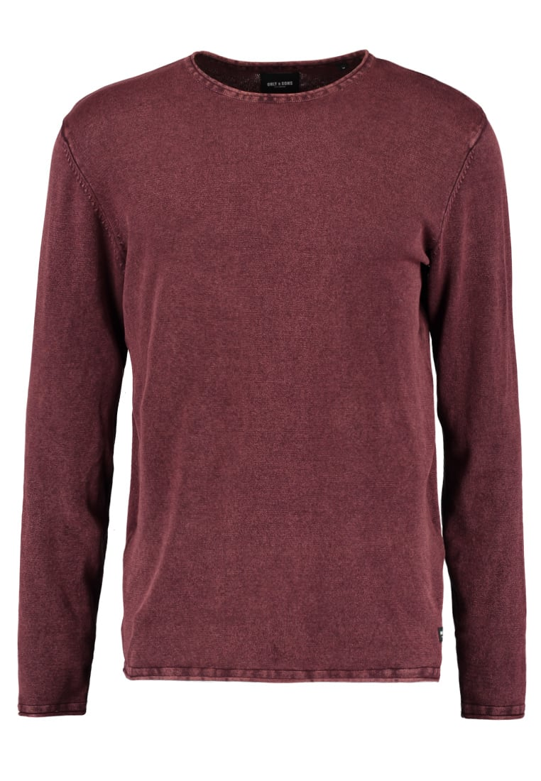 Only & Sons GARSON Sweter fudge - 22006806