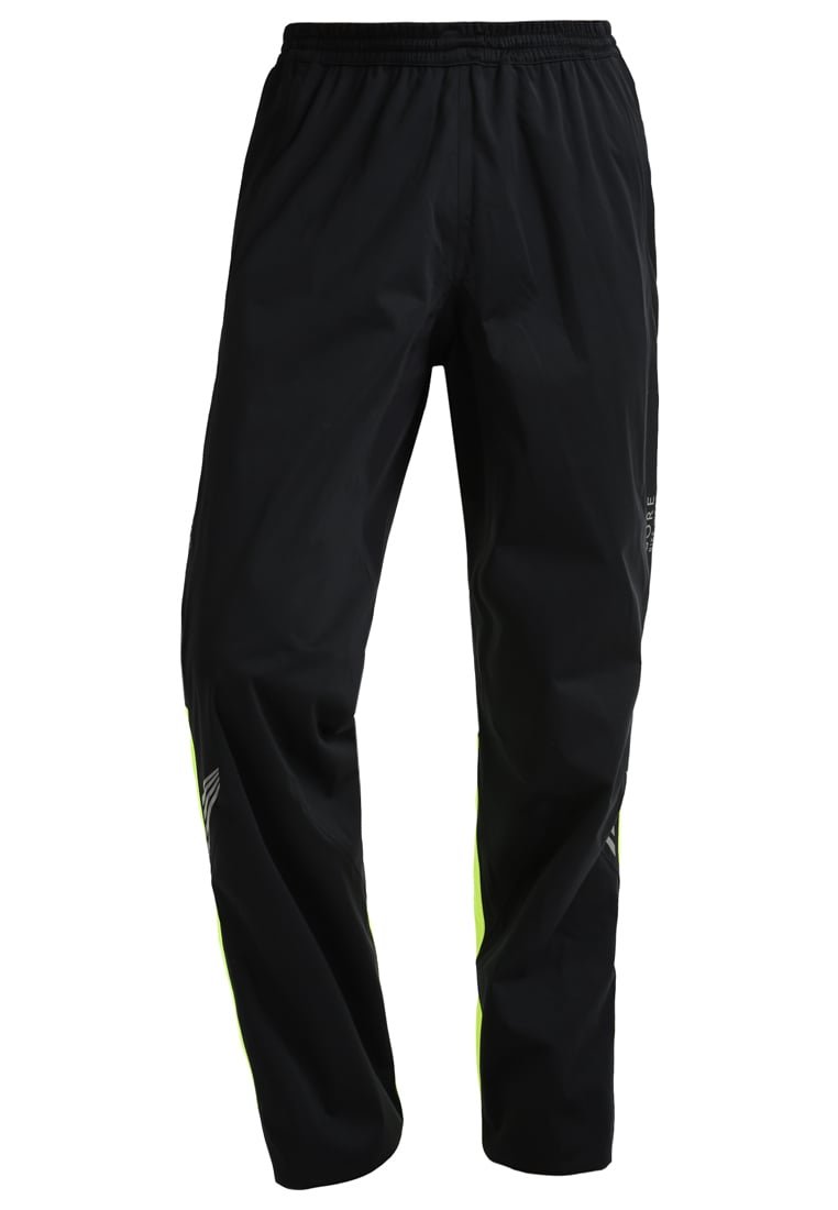 Gore Bike Wear ELEMENT GT Spodnie materiałowe black/neon yellow - PGMELE