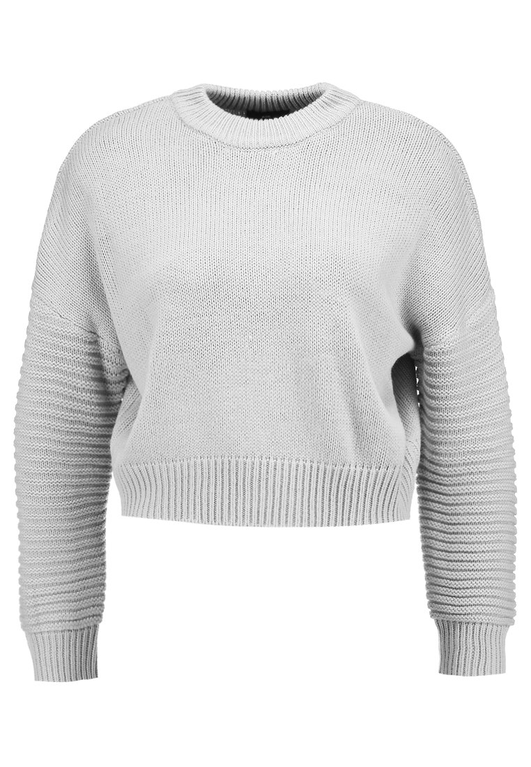 Topshop Petite DETAIL Sweter grey - 26H03NGRY